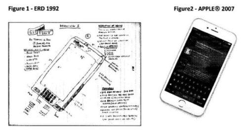 أيفون اختراع مسروق والمخترع الحقيقي يطالب بالتعويض!